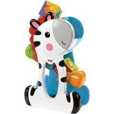 "Развивающая игрушка Fisher-Price ""Зебра с волшебными кубиками"" Mattel"