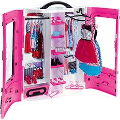 "Мебель для куклы Barbie ""Шкаф модниц"", розовый Mattel"