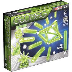 """Магнитный конструктор Geomag  """"Glow"""", 30 деталей"""