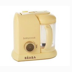 "Блендер-пароварка Beaba ""Babycook Macaron Vanilla"", желтая BÉaba"