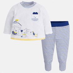 Комплект:ползунки,футболка Mayoral для мальчика