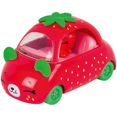 """Игровой набор Moose """"Cutie Car"""" Машинка с мини-фигуркой Shopkins, Strawberry Speedy Seeds"""