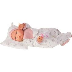 """Кукла """"Бертина"""" в розовом, озвученная, 52 см, Munecas Antonio Juan"""