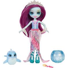 """Кукла Enchantimals """"Морские подружки с друзьями"""" Дольче Дельфина и дельфинчик, 15 см Mattel"""