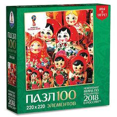 "Пазл Origami FIFA-2018 ""Матрёшки"" Семейство матрёшек, 100 элементов"