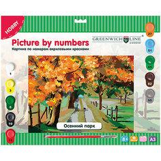 Картина по номерам Greenwich Line «Осенний парк» A3