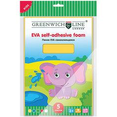 Набор для аппликации Greenwich Line «Пенка EVA» А4  5 листов