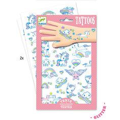 Татуировки Единорог, Djeco