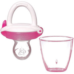 Ниблер для детского питания, Munchkin, розовый