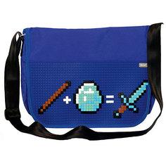 Сумка для ноутбука Upixel «Point Breaker Messenger bag», синий