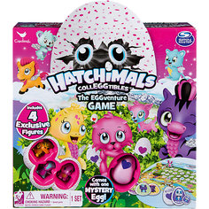 Настольная игра Hatchimals + 4 коллекционные фигурки Spin Master