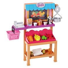 """Аксессуары дл куклы Barbie """"Наборы для работы"""" Магазин продуктов Mattel"""