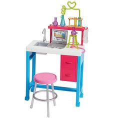 "Аксессуары дл куклы Barbie ""Наборы для работы"" Лаборатория Mattel"