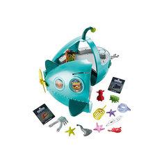 """Игровой набор с фигуркой Fisher Price """"Октонавты"""" Подводная лодка Шлюп-А Делюкс Mattel"""