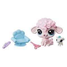 "Игровой набор фигурок Littlest Pet Shop ""Парочки"" Petula Woolwright & Jersey Cowlick Hasbro"