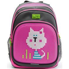 4ALL Рюкзак Kids, серо-розовый