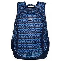 Рюкзак Grizzly, синий/голубой