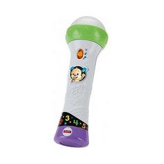 """Интерактивная игрушка Fisher-Price """"Смейся и учись"""" Микрофон Учёного щенка Mattel"""