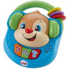 """Интерактивная игрушка Fisher-Price """"Смейся и учись"""" Плеер Учёного щенка Mattel"""