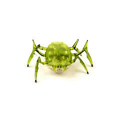"""Микро-робот """"Жук Скарабей"""", зеленый, Hexbug"""