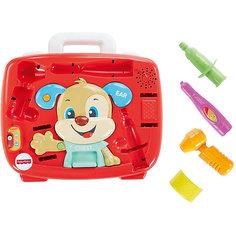 Интерактивная игрушка Fisher-Price Медицинский набор Ученого Щенка Mattel
