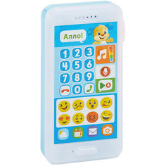 """Интерактивная игрушка Fisher-Price """"Смейся и учись"""" Телефон Учёного щенка Mattel"""