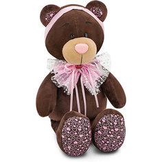 """Мягкая игрушка Orange """"Choco&Milk"""" Медвежонок Milk: Розовый бант, 25 см"""