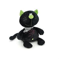 """Мягкая игрушка Orange """"Toys"""" Кот Батон чёрный, 15 см"""