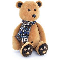 """Мягкая игрушка Orange """"Life"""" Медвежонок Медок в шарфике, 30 см"""