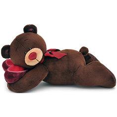 """Мягкая игрушка Orange """"Choco&Milk"""" Медвежонок Choco лежебока, 30 см"""