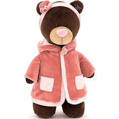 """Мягкая игрушка Orange """"Choco&Milk"""" Медвежонок Milk стоячая в пальто, 30 см"""