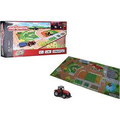 Игровой коврик Creatix, Farm серии, нескользящий + 1 машинка Majorette
