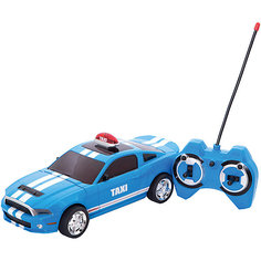 Радиоуправляемая машина Yako Toys Taxi, голубая