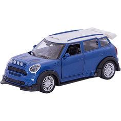 Инерционная машинка Yako Toys Драйв Collection Городской кроссовер, 1:34, синяя