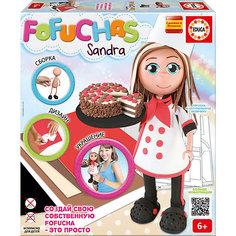 Фофуча Сандра - набор для творчества в виде куклы Fofucha