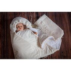 Комплект на выписку 6 пред., весна-осень, одеяло трансформер, GulSara