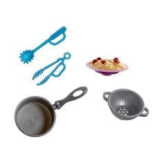 """Посуда для куклы Barbie """"Мини-наборы для кухни"""" Приготовление спагетти Mattel"""