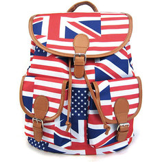 "Рюкзак ""American Flag"" с 2-мя карманами, цвет мульти Creative LLC"