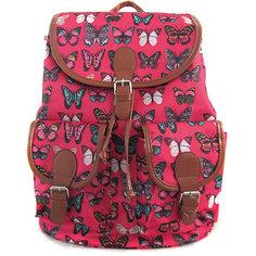 """Рюкзак """"Махаоны"""" с 2-мя карманами, цвет розовый Creative LLC"""