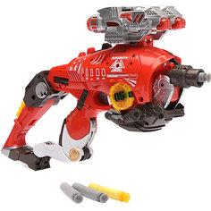 """Пистолет-робот 2 в 1 Devik Toys """"Тираннозавр"""", с 10 мягкими патронами"""