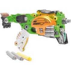 """Пистолет-робот 2 в 1 Devik Toys """"Стегозавр"""", с 6 мягкими патронами"""