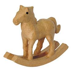 Лошадка-качалка, папье-маше, DECOPATCH