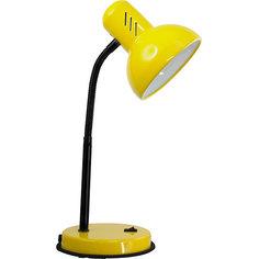 Настольный светильник Основание 40Вт ЛН, Ultra Light, жёлтый