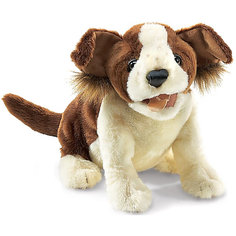 Мягкая игрушка на руку Folkmanis Собака, 35 см