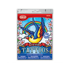 """Набор татуировок для девочек """"Классические тату"""", 50 шт., Savvi"""