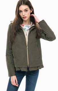 Легкая куртка цвета хаки Gerry Weber