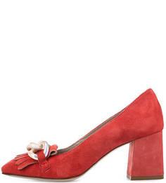 Замшевые туфли с декоративными элементами Tosca BLU