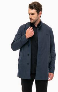 Синяя куртка на пуговицах Fred Perry