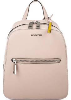 Рюкзак из сафьяновой кожи с одним отделом Cromia
