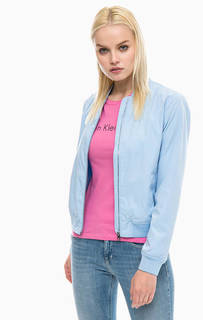 Синяя куртка бомбер Calvin Klein Jeans